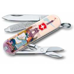 "Navaja multiusos ""CLASSIC THE CITY OF LOVE"" VICTORINOX 0.6223.L1810"