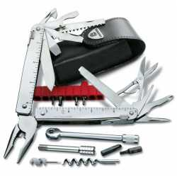 "Multiherramienta ""SWISS TOOL X PLUS RATCHET"" VICTORINOX 3.0339.L"