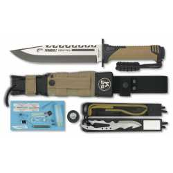 "Cuchillo de SUPERVIVENCIA K-25 ""THUNDER I"" 32018"