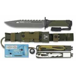 "Cuchillo de SUPERVIVENCIA K-25 ""THUNDER I"" 32019"